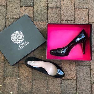 🌻Vince Camuto Black Patent Pump High Heels Shoes